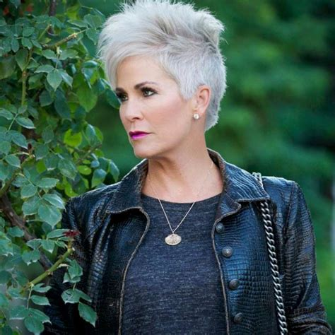 grey hairstyles for 50 16 gray short hairstyles and haircuts for women 2017