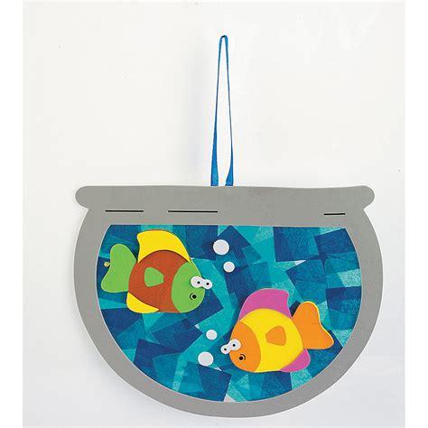 tissue paper fishbowl craft kit orientaltradingcom
