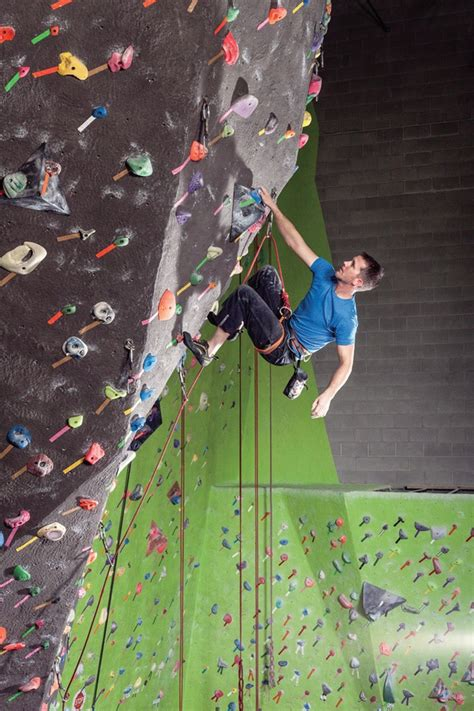 indoor rock climbing things to do pinterest
