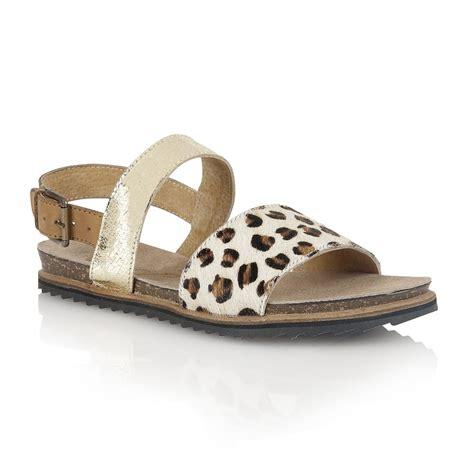 leopard sandals flat buy ravel colorado sandals in leopard gold