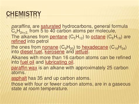 how is formula at room temperature physical and chemical properties of petro