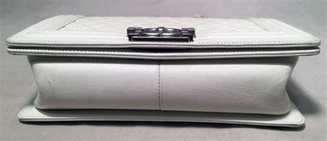 Chanel Boy Jbag X6 chanel white quilted le boy classic flap shoulder bag