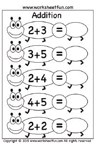 Worksheets 1 digit kindergarten subtraction worksheets 1 digit