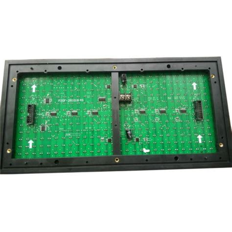 Led Matrix P10 p10 outdoor led display panel module 32x16 high