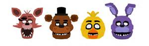 Fnaf 1 vector characters by jagredom on deviantart