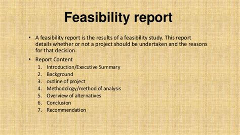 Home Renovation Software feasibility report basic concepts with example