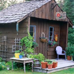Cool Backyard Sheds by Picture Of Garden Shed With A Country Appeal