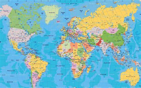 map   world  large images