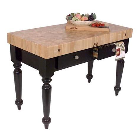john boos cucr05 sb 48 quot sport blue maple rustica table john boos cucr05 bk 48 quot black maple rustica table