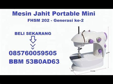 Mesin Jait Mini 4 In 1 Mesin Jait Sewing Machine cara membuat baju anak dengan mesin jahit mini portable gt