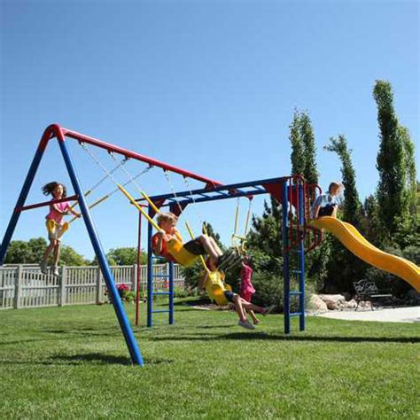 monkey bar swing set lifetime 90177 monkey bar playground slide swings