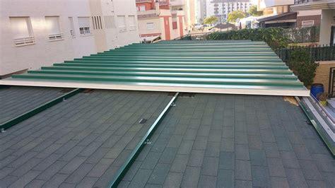 panel cubierta mm tapajuntas acabado verde navarra