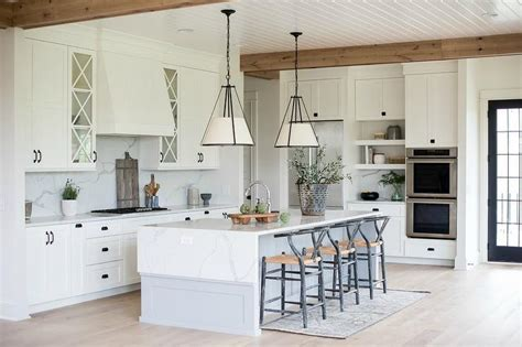 beadboard center island transitional kitchen huryn light gray beadboard center island with casper barstools
