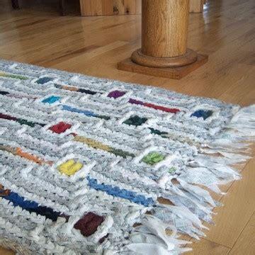 como hacer alfombra trapillo aprende como hacer alfombra trapillo rectangular paso a