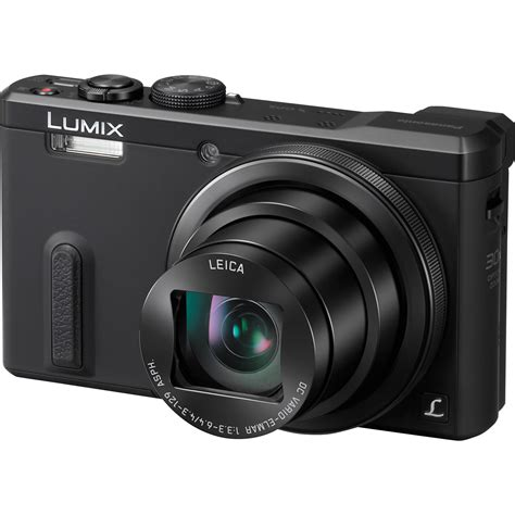 digital panasonic panasonic lumix dmc zs40 digital black dmc zs40k b h