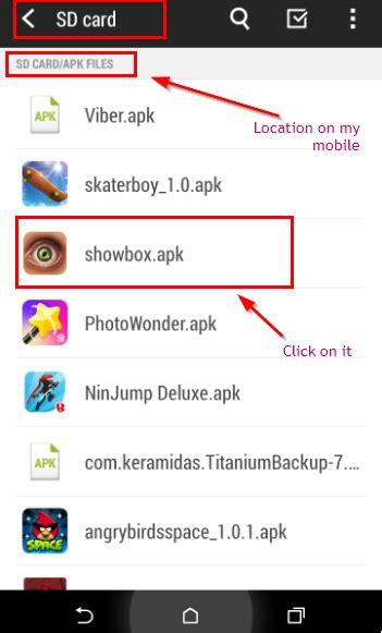 how to install showbox on android showbox app for android showbox apk install