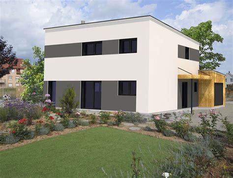 Maison Moderne Cubique by Maison Cubique Toit Plat Nos Projets Maison Cubique