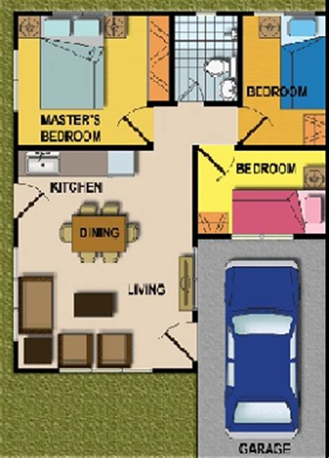 3 Bed Bungalow Floor Plans Cebu Real Estate For Sale In Minglanilla House And Lot