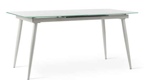 tavoli in vetro temperato tavolo in metallo con piano in vetro temperato idfdesign