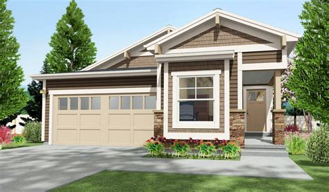 narrow lot house plans craftsman narrow lot craftsman with 2 beds 64411sc architectural