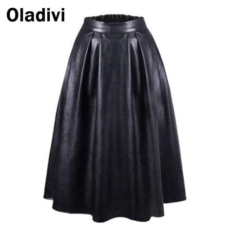 get cheap leather skater skirt aliexpress