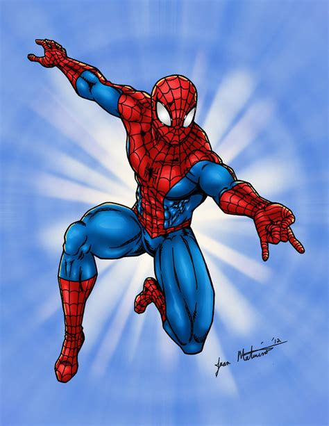 how to draw spiderman swinging spider man swinging at you by jmaturino on deviantart