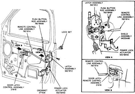remove  broken lock cylinder   ford transit fixya