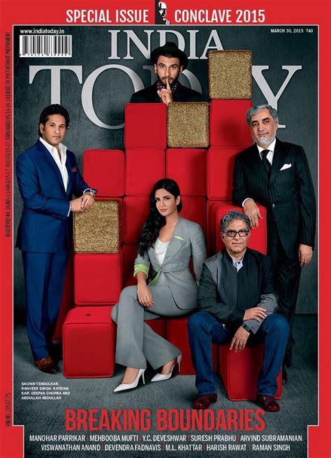 ranveer sachin tendulkar on india today magazine cover