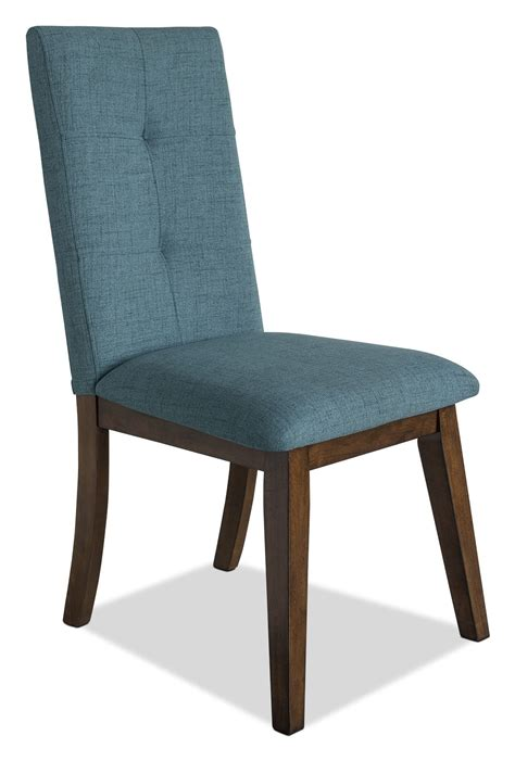 chelsea fabric dining chair aqua the brick
