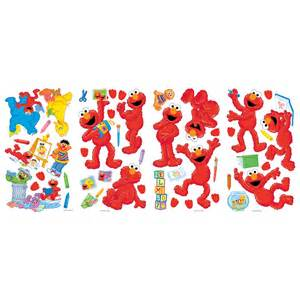 Elmo Wall Stickers sesame street elmo giant wall sticker