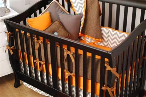 Brown And Orange Crib Bedding Pinterest Discover And Save Creative Ideas