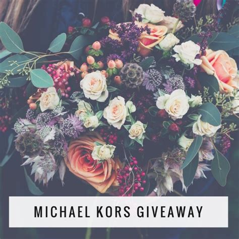Michaels Giveaway - michael kors giveaway for march ends 3 22 17 angie s angle