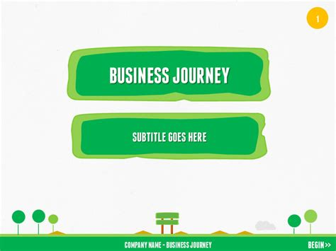 powerpoint templates for journey business journey powerpoint by yordstudio graphicriver
