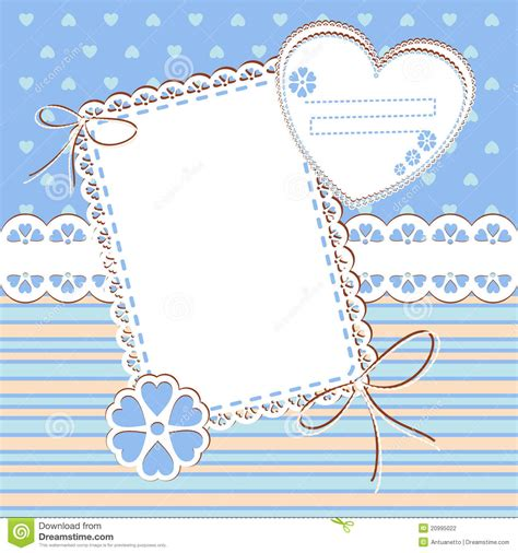 template photo scrap template with blank space for your photos stock