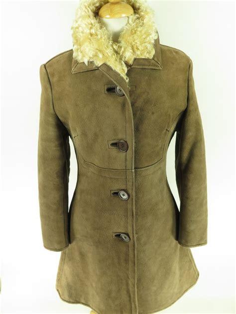 vintage 70s antartex lambskin overcoat scotland s