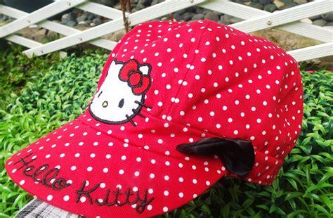 Topi Pet Anak Stripe topi hk merah pet