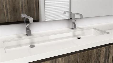 undermount trough sink undermount bathroom trough sink house