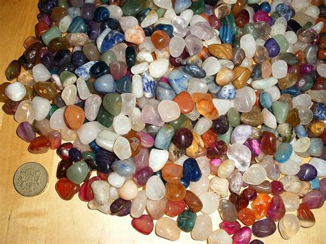 wholesale 100 assorted 10mm 18mm small polished tumble