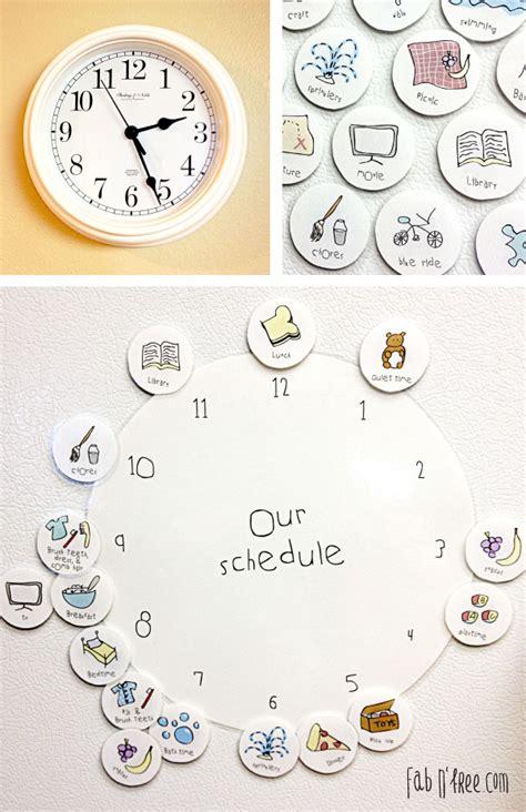 printable turning schedule clock ειδική διαπαιδαγώγηση ρολόι δραστηριοτήτων οργάνωσης