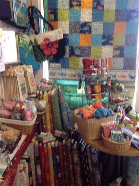 are hawaii quilt shops different then yours rosemary