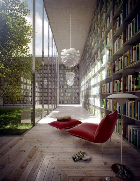 Reading Space Modern Library Room Ideas By Evermotion 187 Library Room