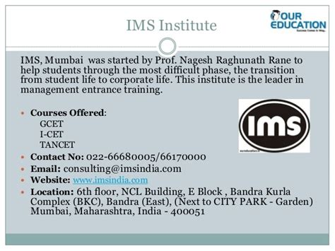 Eligibility For Mba In Mumbai by Top Mba Coaching Institute In Mumbai