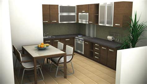 desain interior meja makan tips desain dapur dan ruang makan jadi satu renovasi