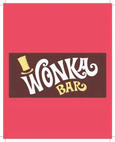 willy wonka chocolate bar party invite james design