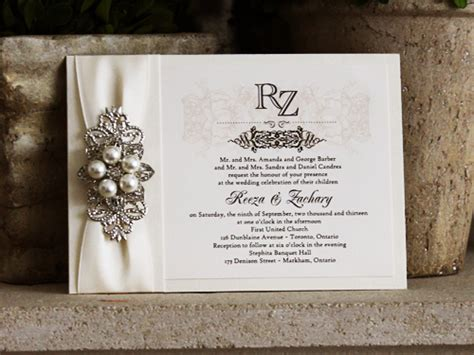 stephita wedding invitations wedding invitation 717 white gold smooth