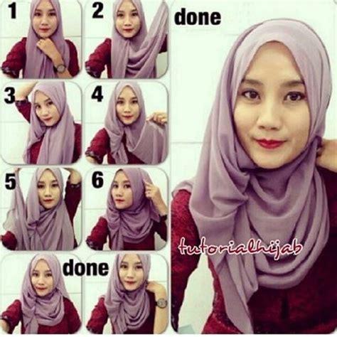 tutorial hijab simple kerudung segitiga 17 best images about hijab tutorials steps on pinterest