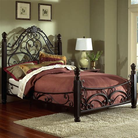 cheap bed frames with headboard iron headboard full marcelalcala