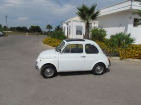 Fiat Luxury Cars 1969 Fiat 500 110f Model L Luxury White For Sale Photos