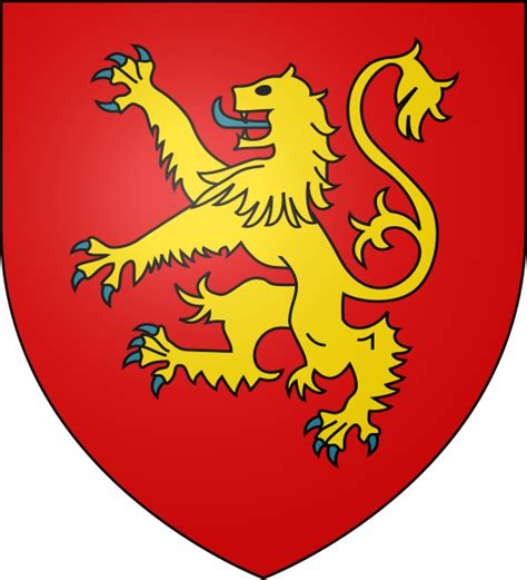House Lannister by File Henry Ii Arms Svg Wikimedia Commons