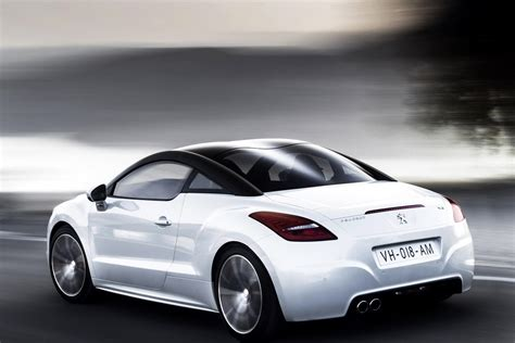 peugeot sedan 2013 updated 2013 peugeot rcz coupe pictures and details